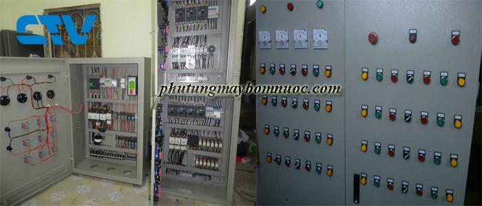 Thiết kế, lắp đặt tủ điện cho hệ thống xử lý nước thải