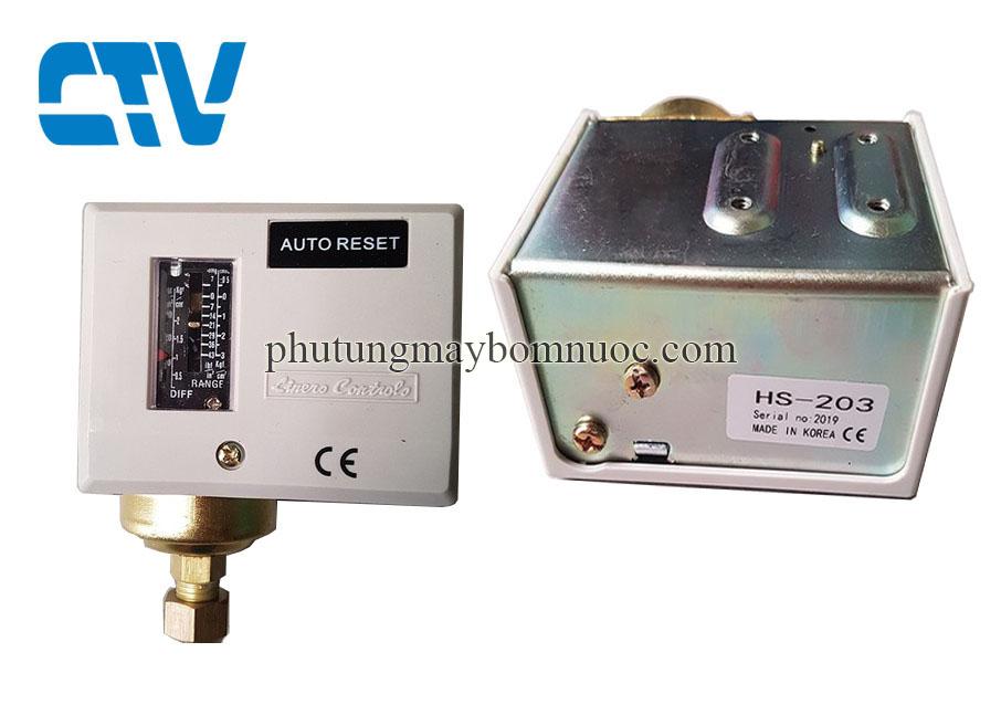 Công tắc áp suất Auto Reset Autosigma HS-203