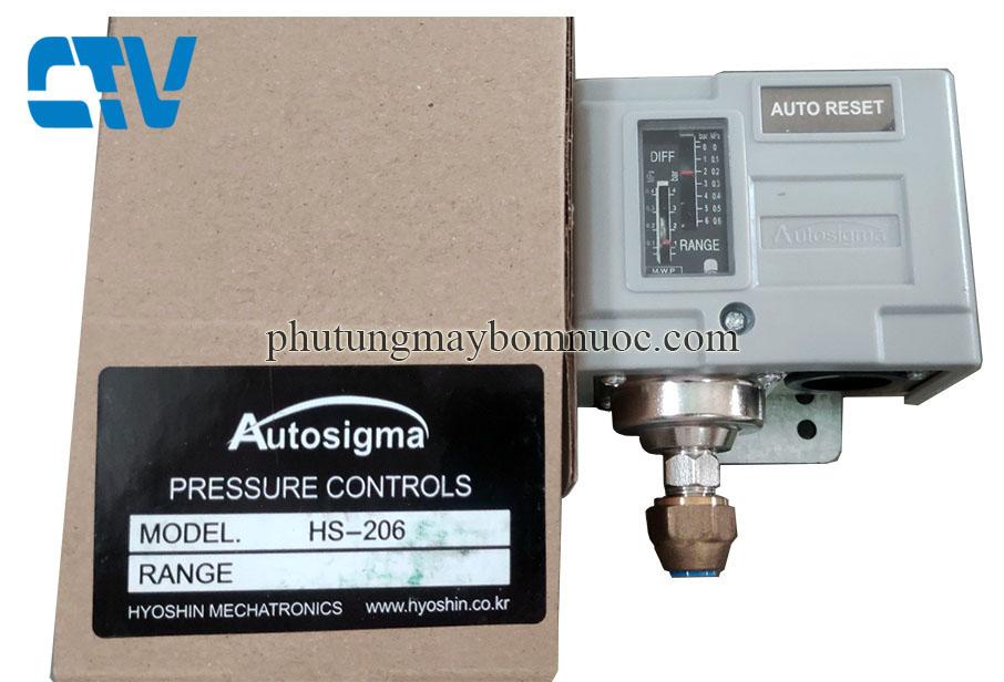 Công tắc áp suất Auto Reset Autosigma HS-206