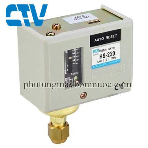 Công tắc áp suất Auto Reset Autosigma HS-220