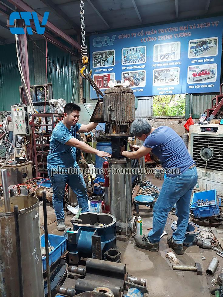Sửa máy bơm – Sửa bơm trục đứng chất lượng, giá rẻ